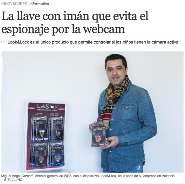 Look&Lock en el periódico El Mundo